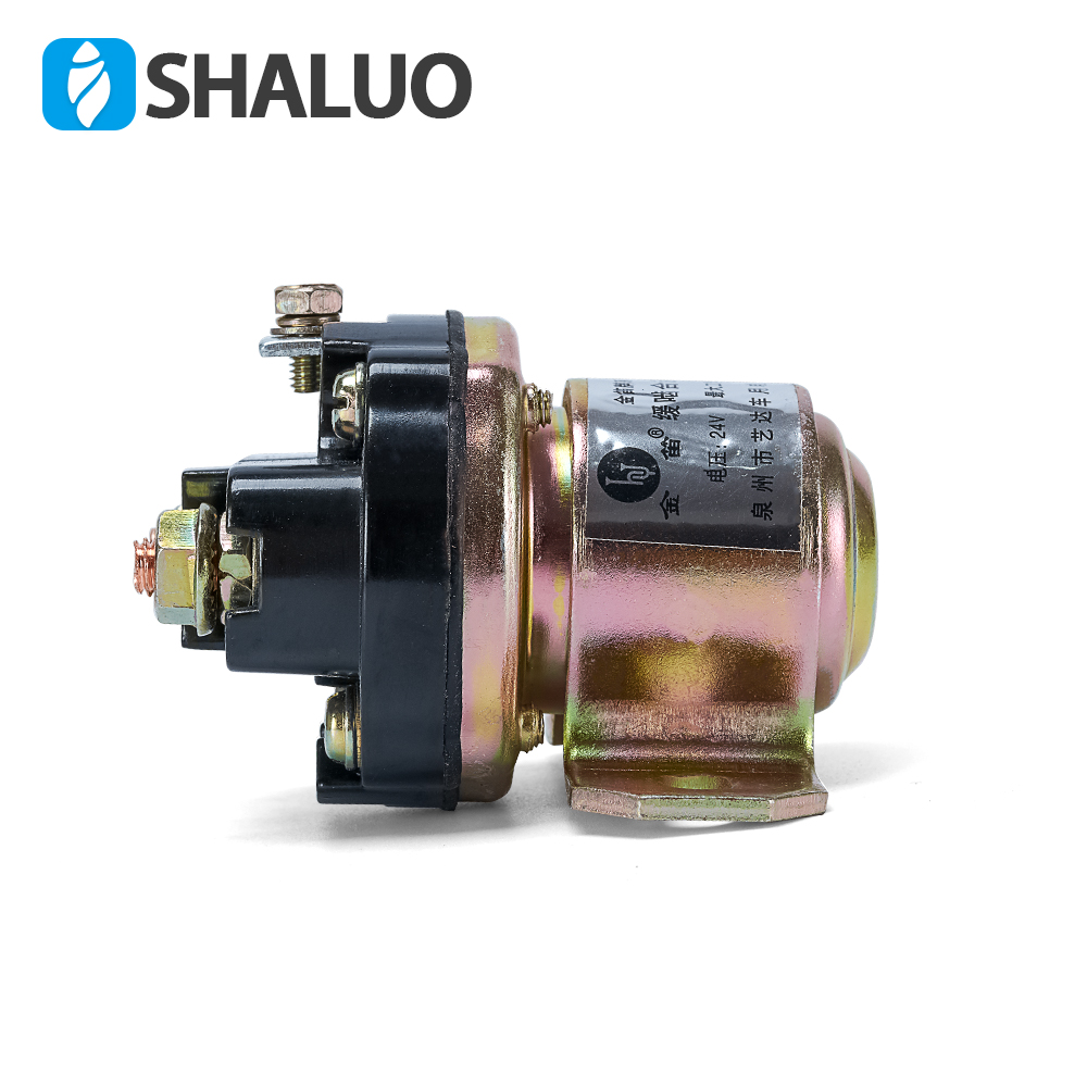 JD231A Electric diesel engine starter motor relay 24V genset parts brushes generator For All Version Starting Motor for sell