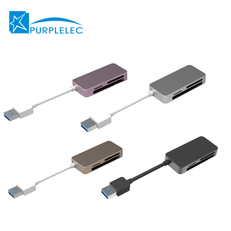 Factory cheaper price card reader 30 compact design sd card reader and hub usb 30 sale