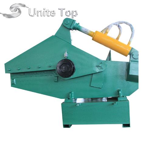 High quality reinforced steel bar cutter q43-4000 hydraulic metal shear alligator q43-160 ce scrap for sale