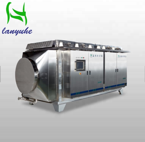Lanyuhe G50 Industrial waste gas treatment Equipment Gas Disposal for sale