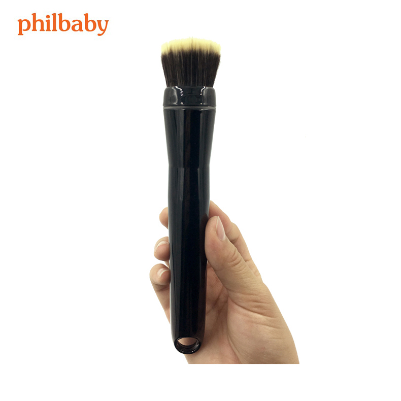 Professional Brush Automatic Cosmetic Brush With Head Rotates 360 degree for applying Powder and BB Cream Electric Makeup Brush on sale