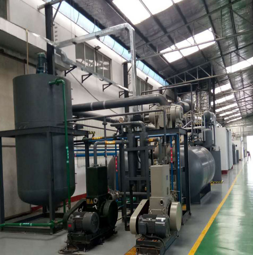 Vacuum Distillation for waste engine oil recycling machine for sale