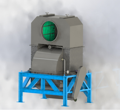99% high dust removal rate systems with wet centrifugal dust removal machine, industrial dust collector for sale