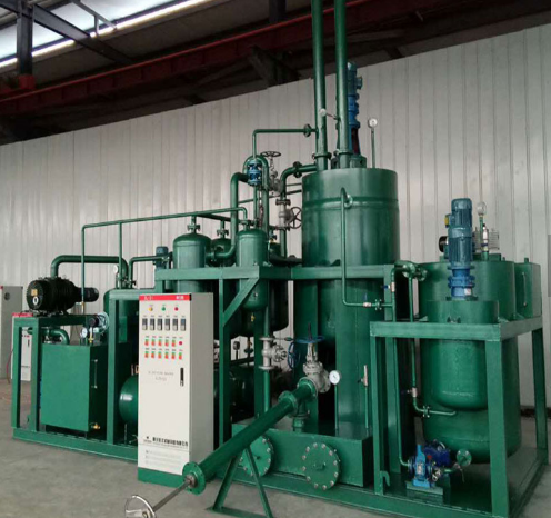 Chongqing Vacuum Distillation Technology for Base Oil by Waste Oil Re-refining Plant for sale