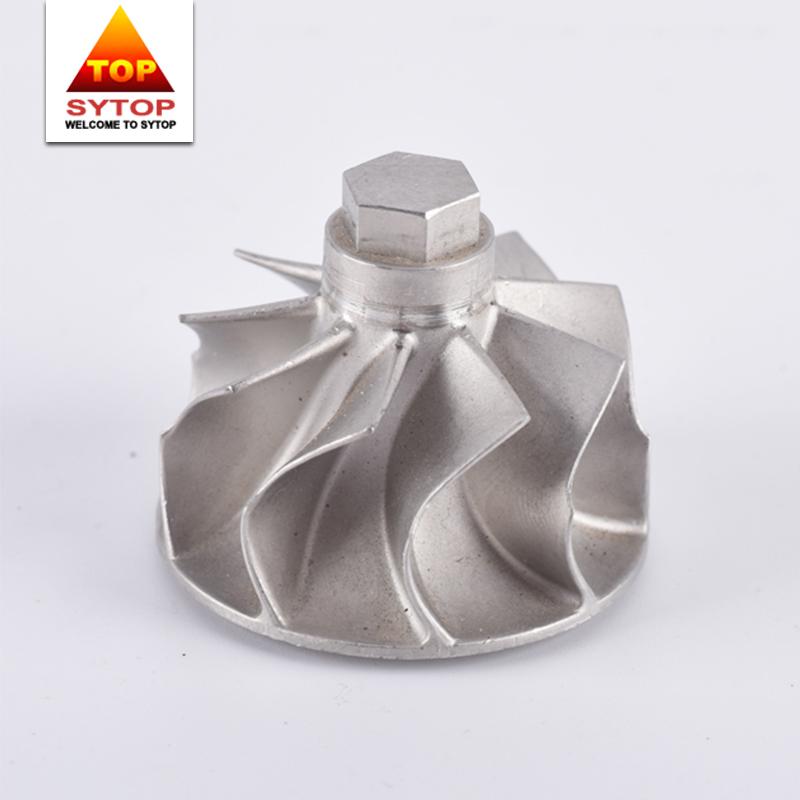 Custom cobalt material centrifugal pump impeller