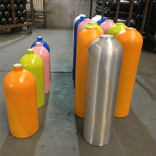 KJ factory direct sell aluminium diving 11L 12L 7L  scuba cylinder tank with 200bar best price