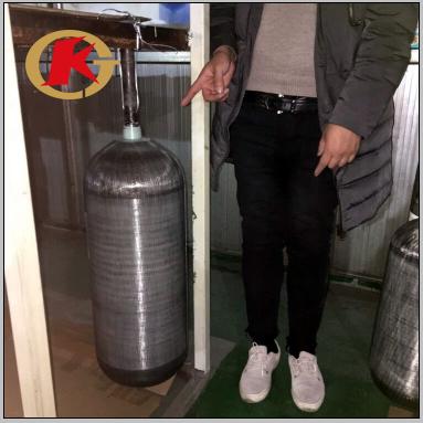 KJ factory direct sell 0.5L 3L 6.8L 9L 12L 20L carbon fiber tank cylinder for PCP paintball airgun