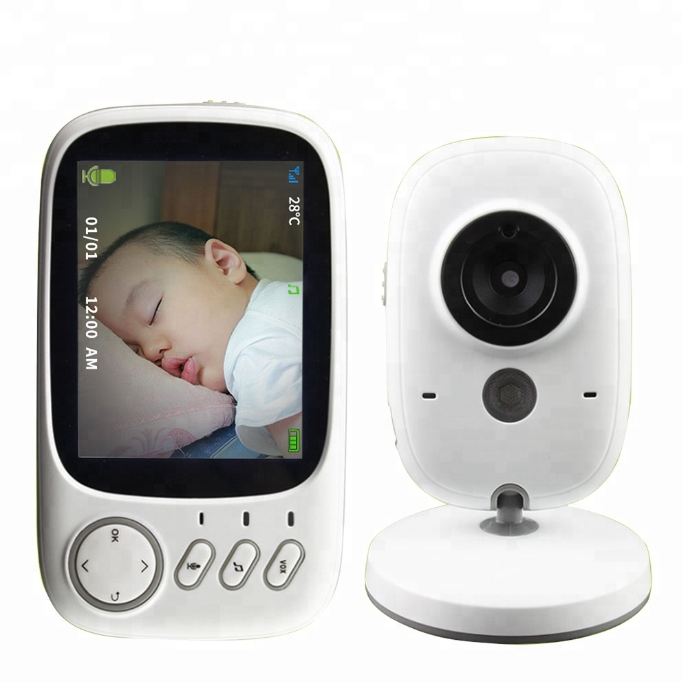 JA-VB603 wholesale 3.2 inch Wireless Baby Nanny Security LCD Monitor Baby Camera wifi Baby Monitor