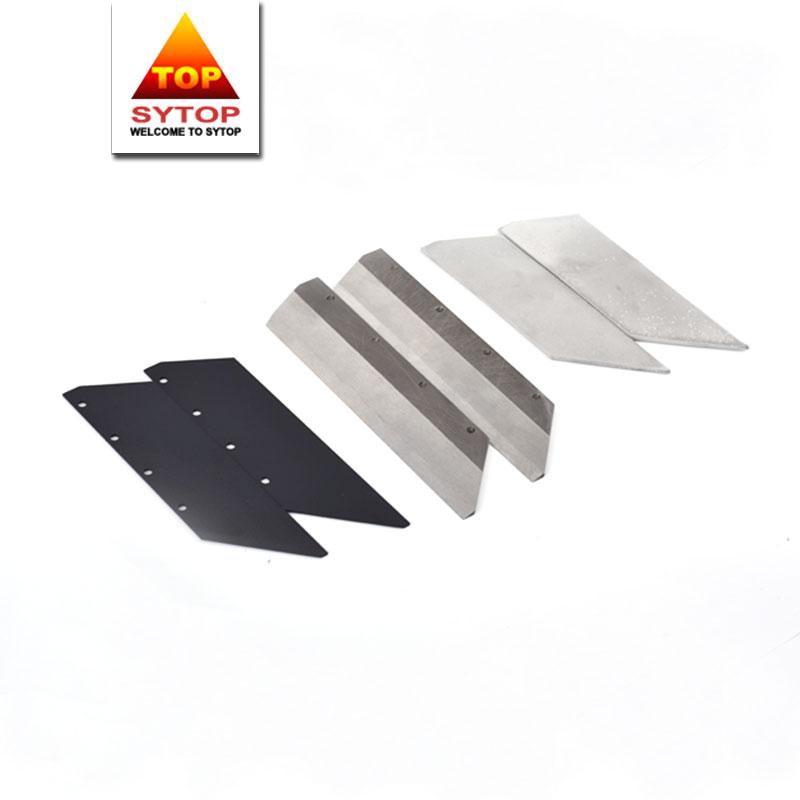 Custom size viscose staple for cutting fiber cutter blade