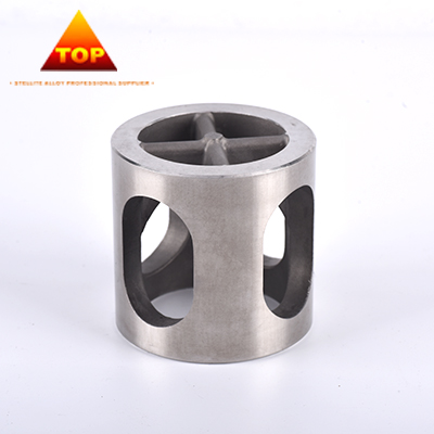 Investment casting cobalt chromium alloy mechanical sleeve / bushing / valve cage