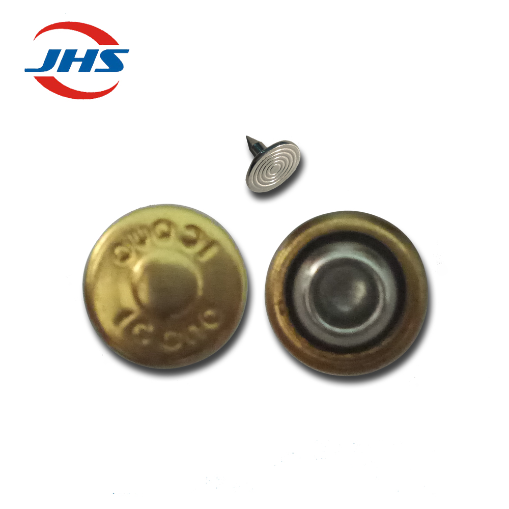 leather garment brass metal rivets sale