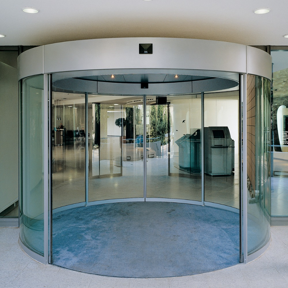 PAD2007 Wide Voltage Glass Curved Glass Sliding Door with CE Certificate