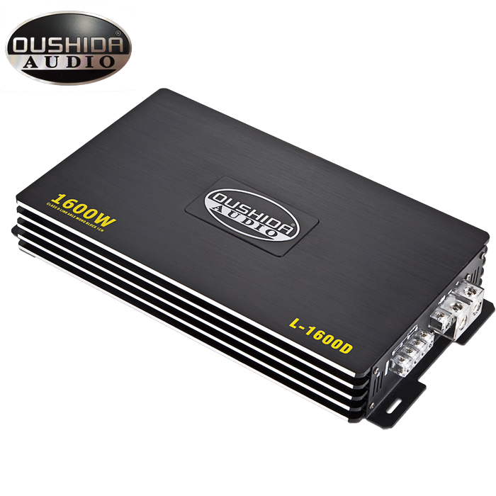 Best quality 1500w monoblock amplifier car music loud and clear Chinese manufacturer 12v voltage class d mono car amplifier