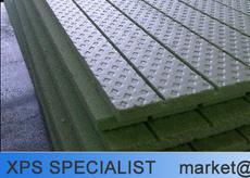 Waterproof styrofoam, fireproof material thermal insulation board sale