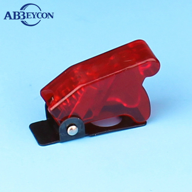 AS07 KN-45C Different Color Carbon Switch Cap Toggle Safety Cover Aircraft Flip sale