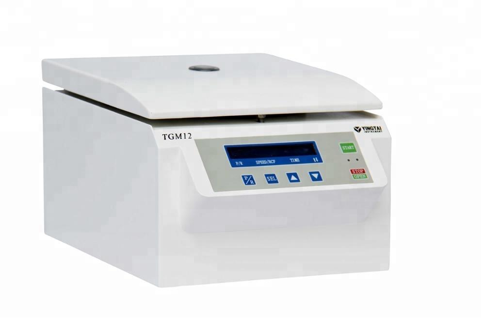 Blood capillary tube micro hematocrit centrifuge machine for sale