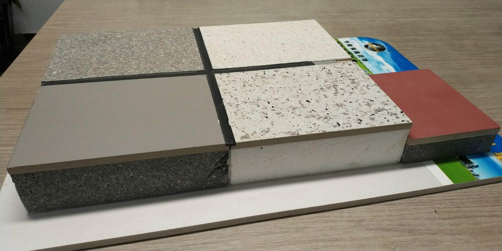 Star Polystyrene foam Concrete Sandwich wall panel for sale
