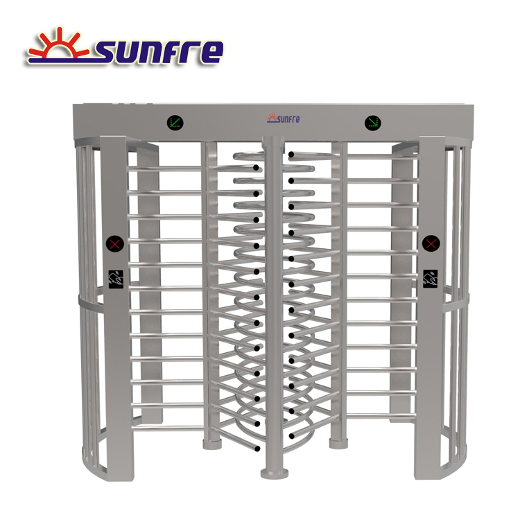 Automatic Electronic Access Control Full Height Turnstile for sale