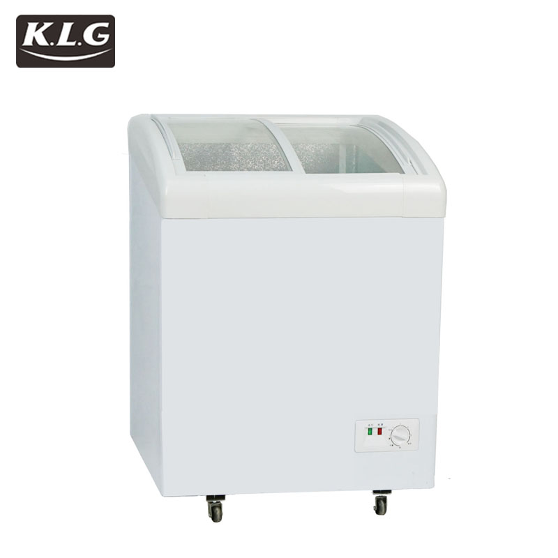 SCD-198 cooler and fridge open top refrigerator,open showcase Commercial ice cream lpg gas freezer sale