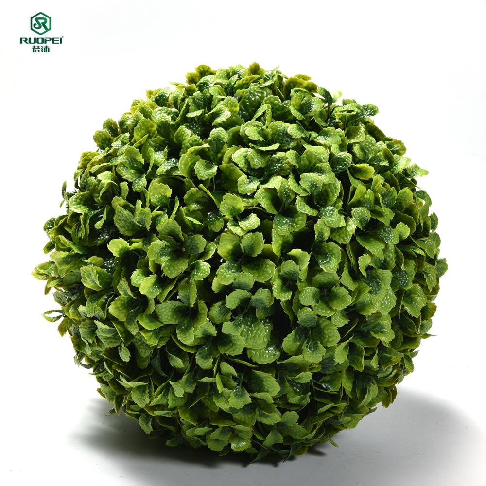 Hot Selling Customized Topiary Artificial Grass Ball For Art Decor sale