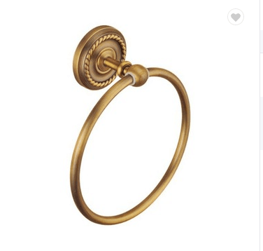 Antique copper bathroom accessories towel ring for sale