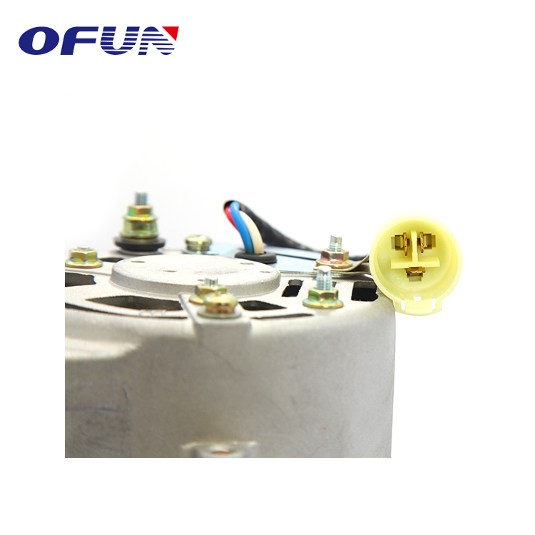 OFUN Super September Long Service Life 24V 30A Excavator Engine Alternator Assembly for sale