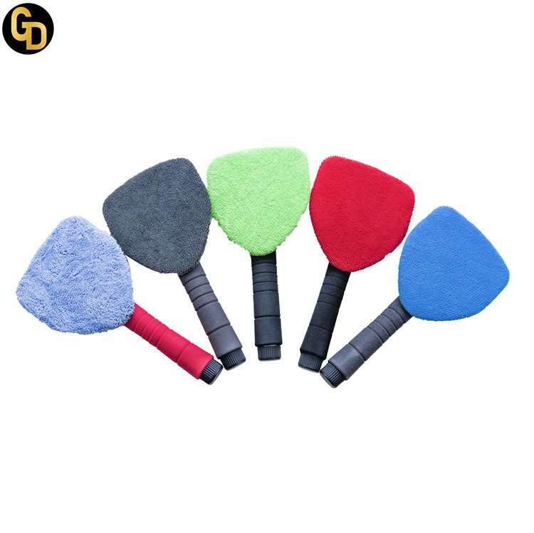 swivel head car window cleaning brush microfiber car cleaning brush car dusting brush for sale