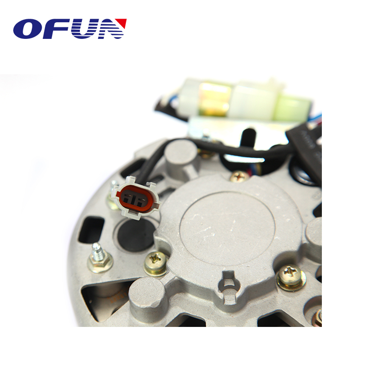OFUN Super September Chinese 24V 2B82-46 Pulley Excavator Engine Alternator for sale