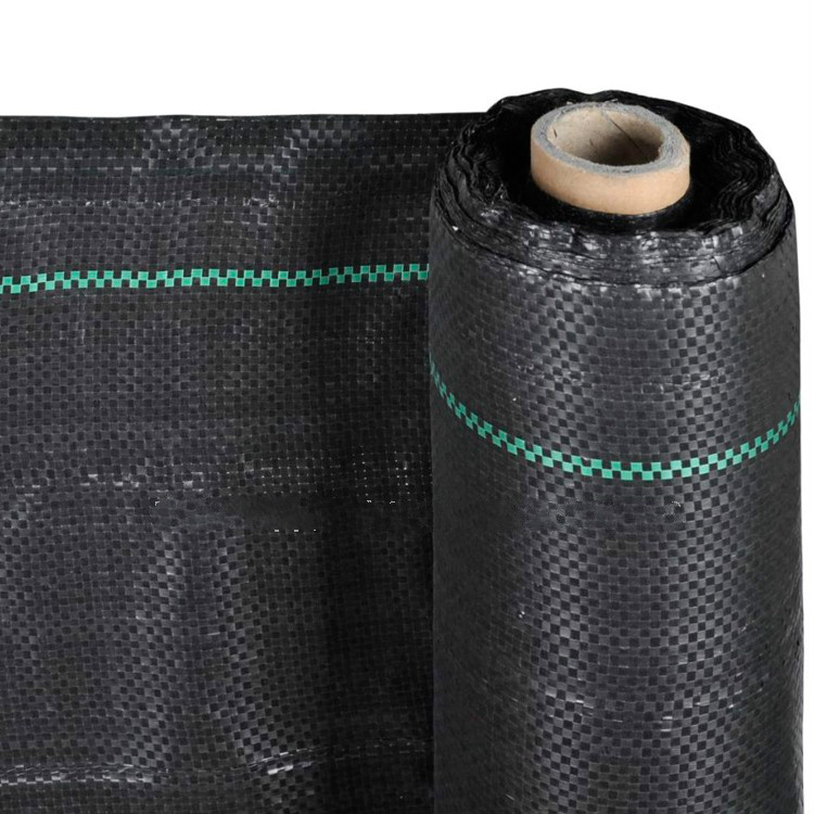 anti grass cloth woven weed stop fabric weed mat for sale