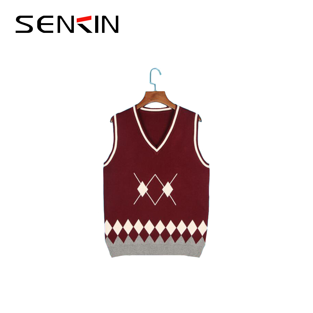 International High School uniform Sweater Vest Design on Sale