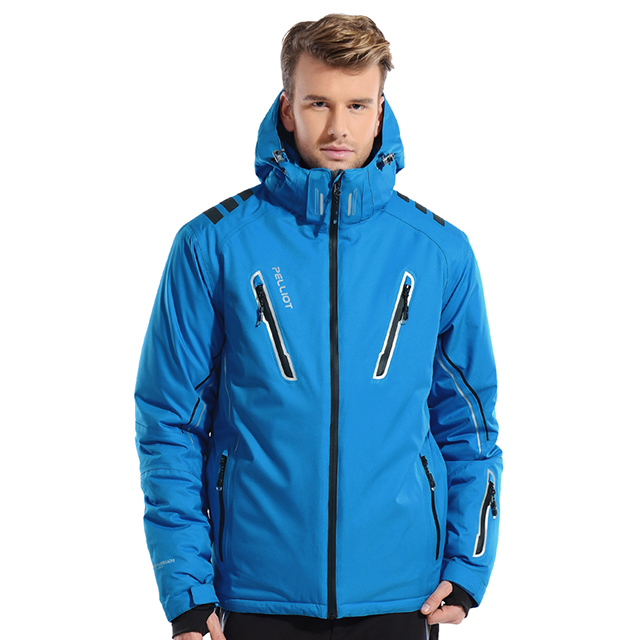 Customized Mens Ski Waterproof Windbreakers Snow Jackets Snow Wear for sale
