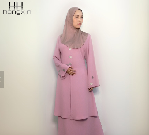 Fashion design baju kurung modern Islamic clothing wholesale baju kurung and baju melayu for sale