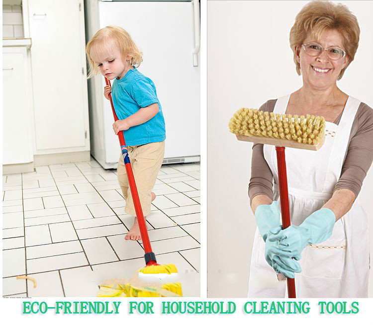 household cleaning tool plastic covered wooden broom handle sale