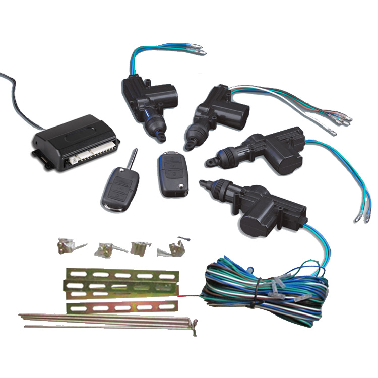 KEYLESS ENTRY CENTRAL LOCKING SYSTEM WITH TWO REMOTE TRANSMITTERS for sale