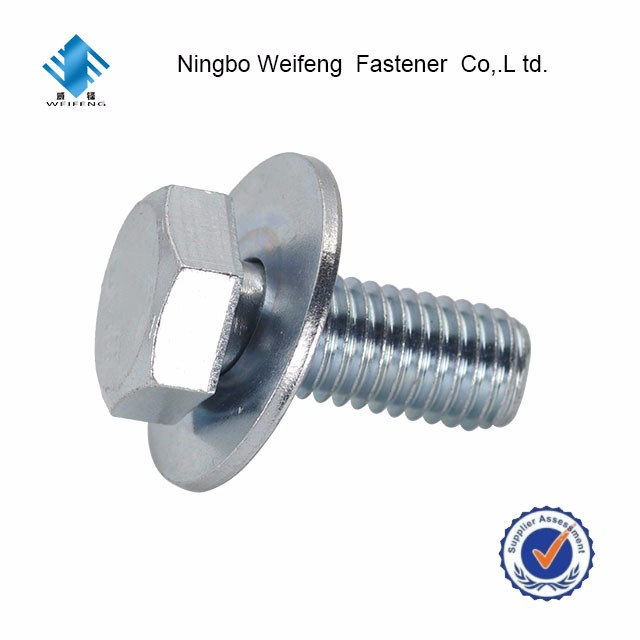 standard size bolt and nut good supplier made in china haiyan factory ningbo weifeng sale