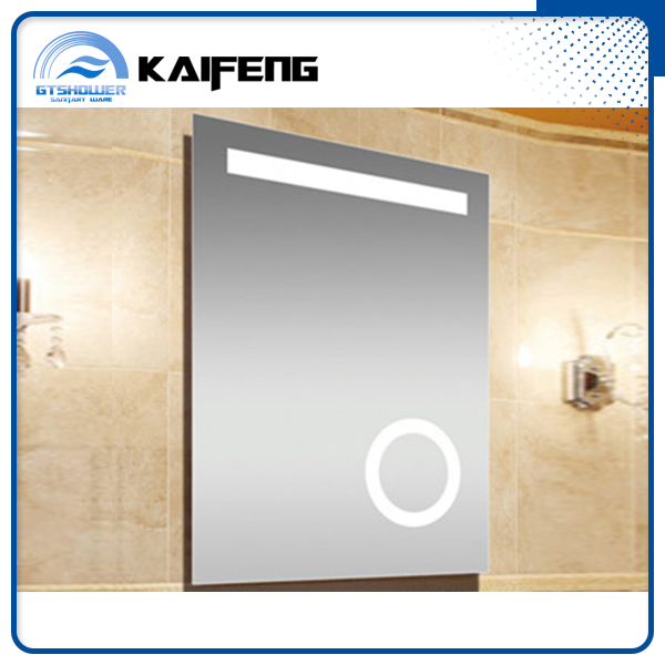 Factory best price bathroom use Smart make up mirror with light sale