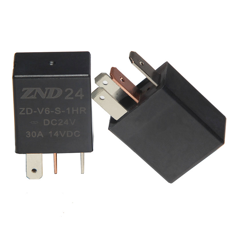 ZDV6 Auto Relay 24V 30A With Resistor 4 Pin for sale