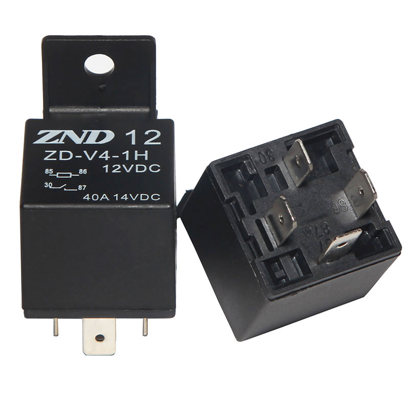 ZDV4 Auto Relay with 4 PIn Plastic Bracket 12V 40A sale