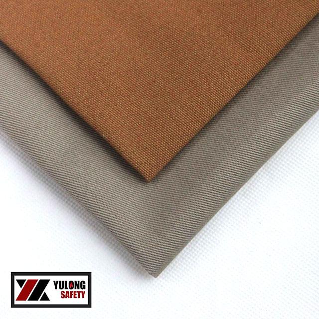 Flame Resistant 100% Cotton Shirting Fabric For Fire Retardant Shirts on Sale