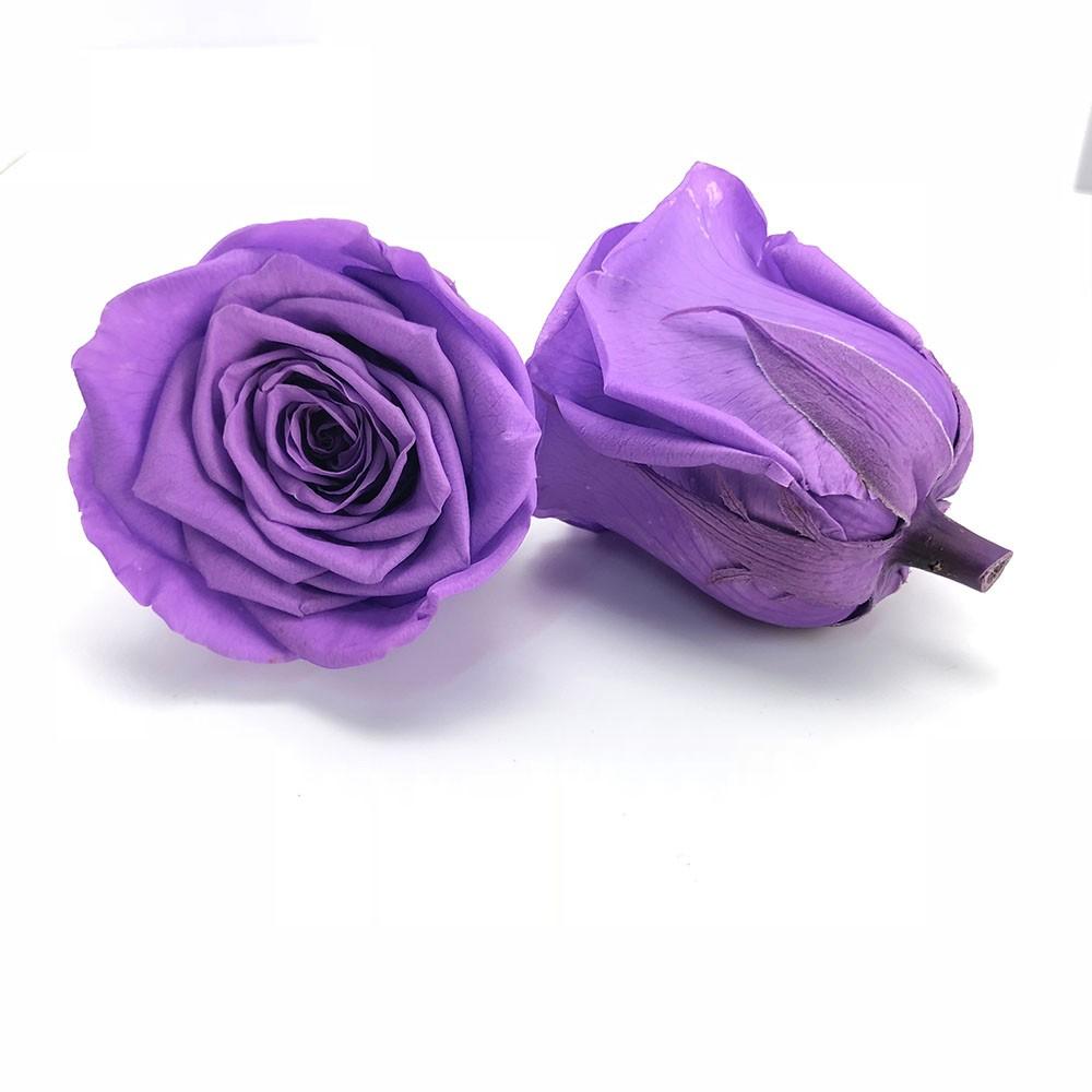 Thanksgiving Gifts for Boyfriend Purple Flower Petals Art Rose Box Sale