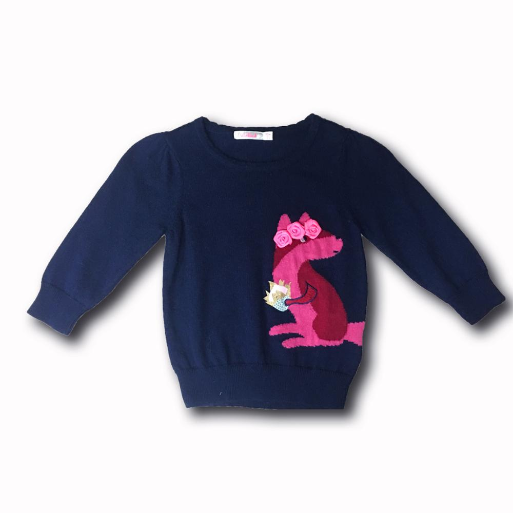 baby children pullover girl's fashion knitted pullover sweater for sale