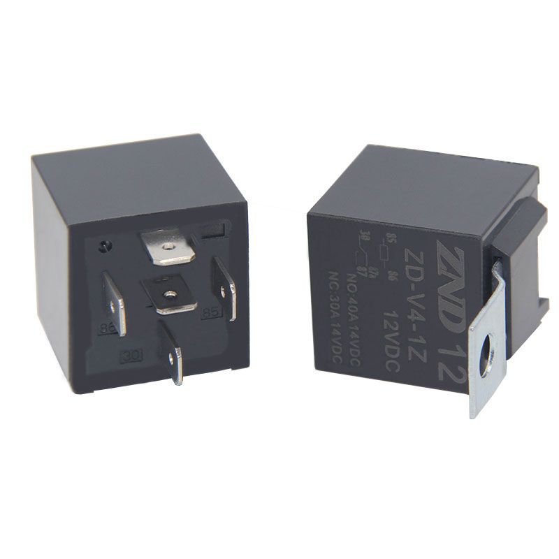 ZDV4 40A 14VDC Auto Relay 12V 5Pin Car Relay For Cars sale