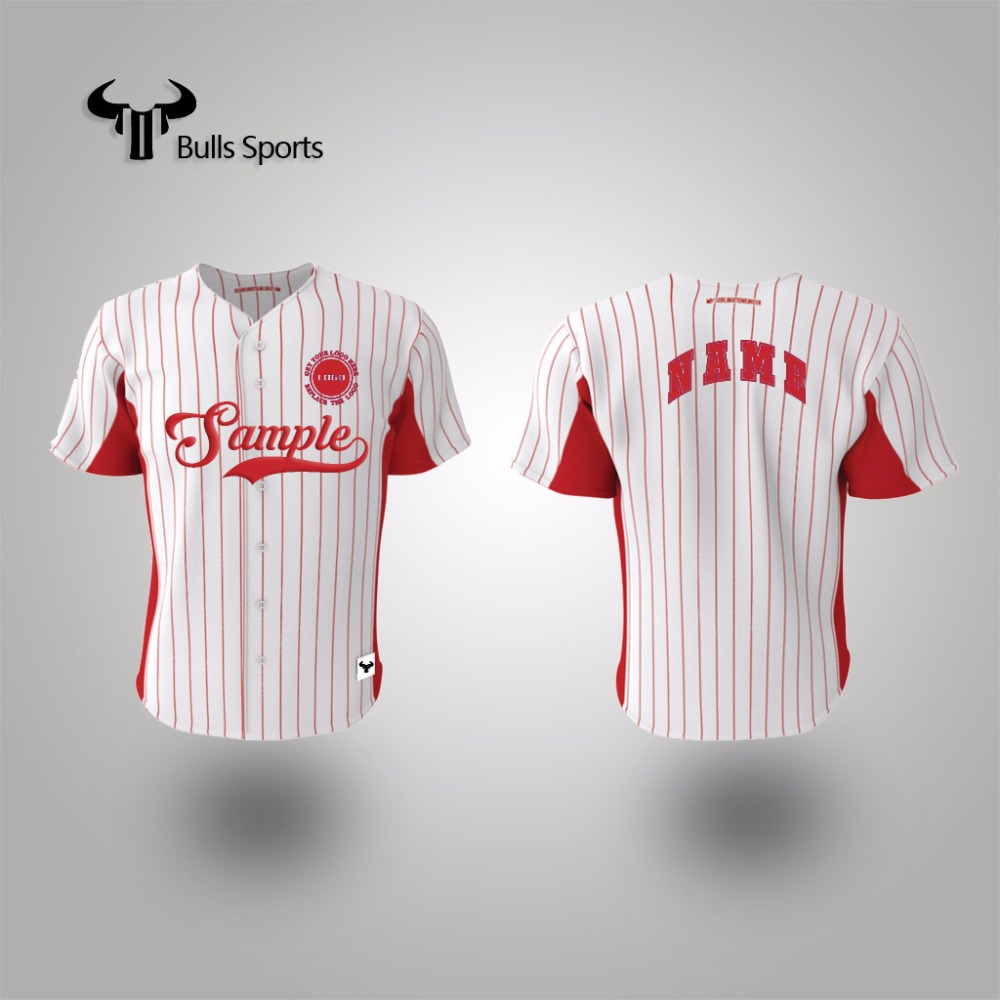 2017 custom sublimation colorful baseball jersey shirt for sale
