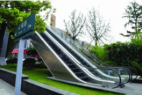 Outdoor Heavy-duty Public Transport Escalator for sale