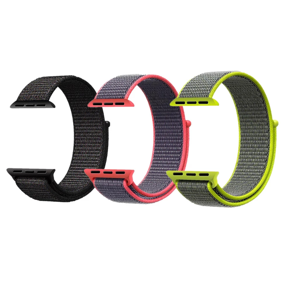 Watchstrap 42mm 38mm sport watch strap nylon wrist watch band for apple watch for sale
