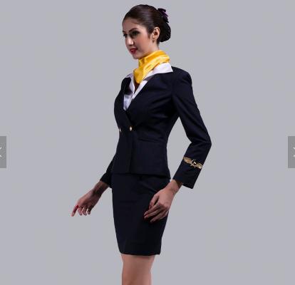 Custom High Quality Airline Uniform For Stewardess sale