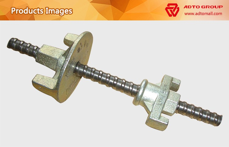 Top Quality Of Formwork Tie Rod With Wing Nut for sale