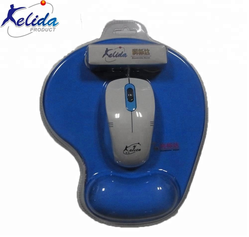 Kelida Mouse Pad Factory Supply Different Mouse Pad and Mouse Set for sale
