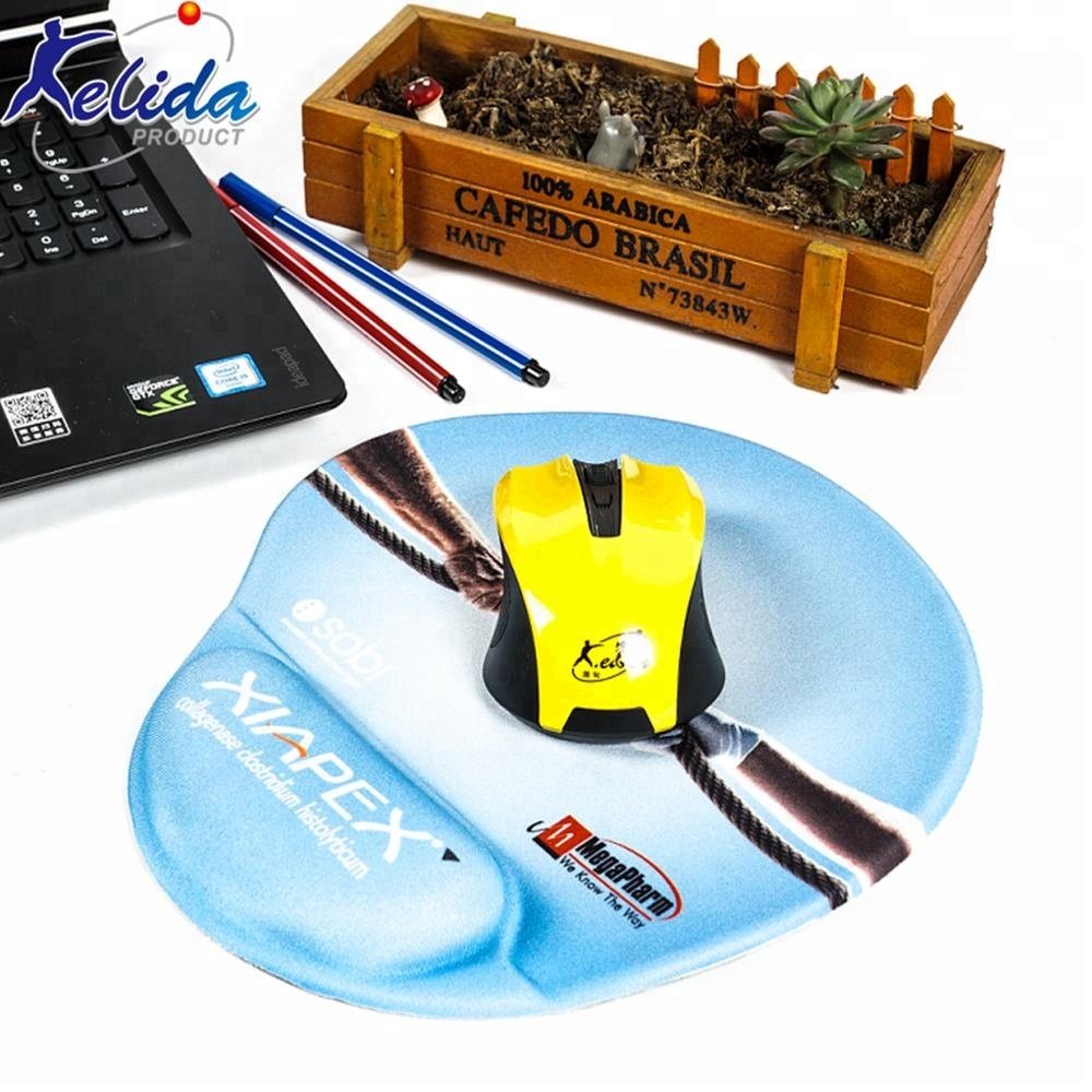 Kelida Custom Silicone Gel Wrist Rest Support Mouse Pad for sale