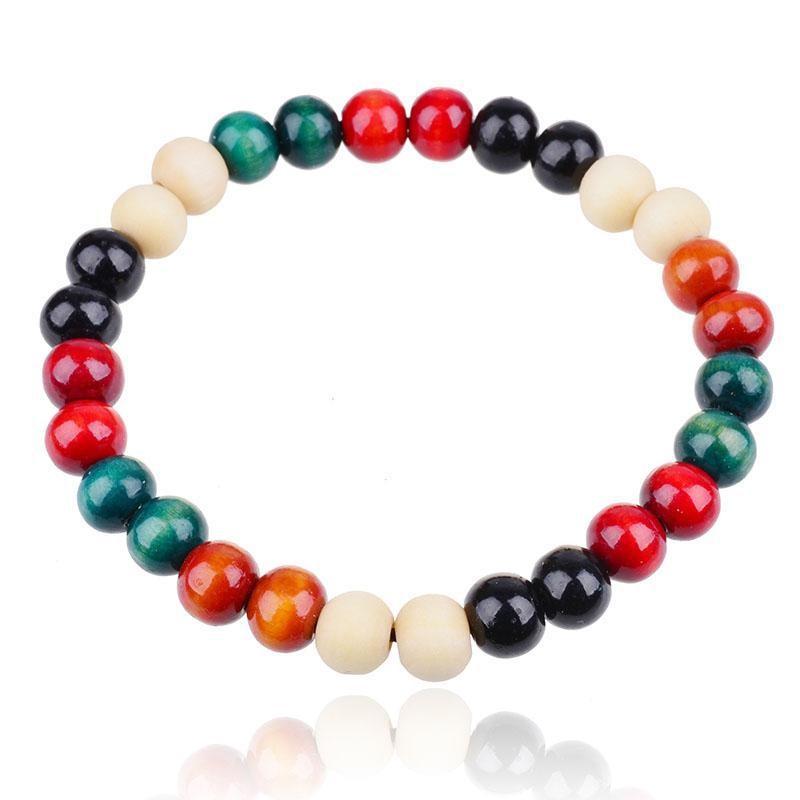 Queena Wholesale Natural Sandalwood Buddhist Meditation Prayer 8mm Beads Bracelet for sale